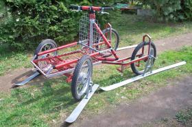 """husky malamute 4 - Rad trainingswagen/-schlitten entwickelt von """"Huskyfarm"""""""