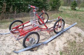 """Foto 4 husky malamute 4 - Rad trainingswagen/-schlitten entwickelt von """"Huskyfarm"""""""