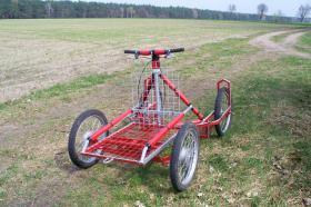 """Foto 6 husky malamute 4 - Rad trainingswagen/-schlitten entwickelt von """"Huskyfarm"""""""