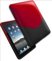 Foto 3 iPad Hard Plastic Case von ifrogz (rot/schwarz)