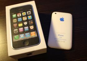 Foto 2 iPhone 3Gs 16 GB weiß - neu  - noch mit Garantie
