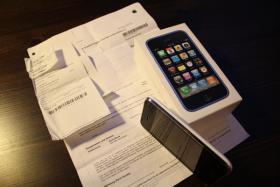 Foto 3 iPhone 3Gs 16 GB weiß - neu  - noch mit Garantie