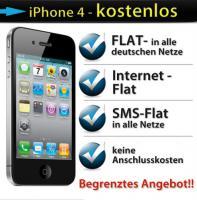 iPhone 4 16GB - KOSTENLOS - O² ALL-NET-FLAT !