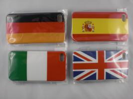 iPhone 4/4S Cases Hartschalen Design Flaggen Fussball-EM ! Ein MUSS für Fans !