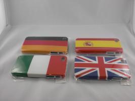 Foto 2 iPhone 4/4S Cases Hartschalen Design Flaggen Fussball-EM ! Ein MUSS für Fans !