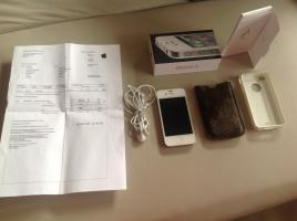 Foto 3 iPhone 4 weiss 16GB Wifi 3GS mit Restgarantie