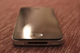 Foto 2 iPhone 4 - 16 GB - Schwarz - Simlock (ab 15.10.2012 AUTOMATISCH FREIGESCHALTET!!)