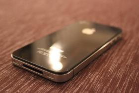 Foto 3 iPhone 4 - 16 GB - Schwarz - Simlock (ab 15.10.2012 AUTOMATISCH FREIGESCHALTET!!)