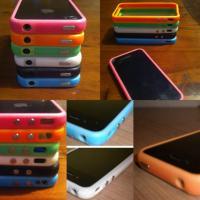 iPhone 4 / 4s Bumper Case Hülle - NEU & OVP - VERSAND MÖGL.