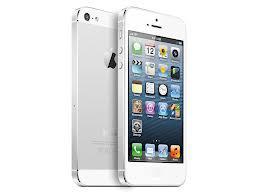 iPhone 5 weiß-silber - Simlockfrei
