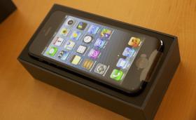 Foto 4 iPhone 5, 32 GB, Schwarz aus Garantieaustausch