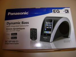 iPod Speaker SC-SP100 von Panasonic