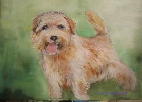 in Öl gemalte Portraits