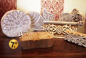 Foto 5 indische Accessoires zum Anfassen