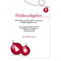 ... Foto 3 Individuelle Einladungskarten Zur Weihnachtsfeier