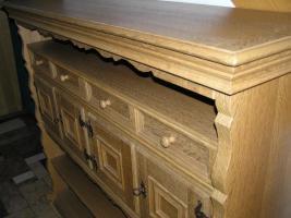 Foto 6 individuelles Möbel, Einzelstück in Eiche gelaugt und geschruppt
