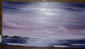 Foto 3 insel im meer mit leuchtturm und segelbooten