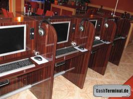 Foto 3 internettische internetterminal surf kiosk münzterminal münzprüfer kiosksysteme spielhalle casino wettautomat internetcafe cashterminal