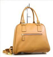 Foto 2 italienische Taschen Handtaschen Damentasche Echt Leder Neu Shopper Bag camello