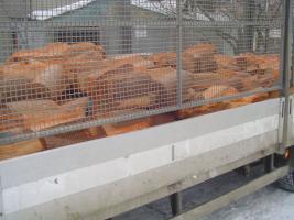 Foto 2 kaminholz gepackt in sack 25kg