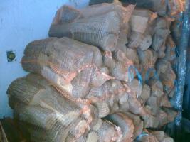 Foto 3 kaminholz gepackt in sack 25kg
