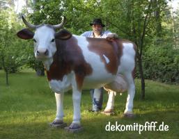 Foto 2 kauf einfach ne Deko kuh und Gratis ein Deko Kalb dazu … Echt machs einfach ...