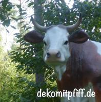 Foto 4 kauf einfach ne Deko kuh und Gratis ein Deko Kalb dazu … Echt machs einfach ...