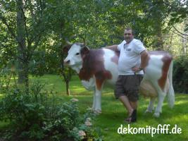 Foto 5 kauf einfach ne Deko kuh und Gratis ein Deko Kalb dazu … Echt machs einfach ...