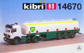 kibri H0-14670 MB m. Tankauflieger BP Bausatz, NEU - OVP