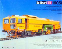 + kibri H0 -16050 Schienenstopfexpress Plasser &Theurer Bausatz
