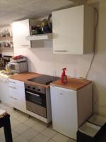 kleine Küchenzeile von Ikea