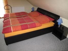 Foto 3 kompl. Schlafzimmer, schwarz