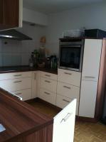 Foto 5 komplette Küche beige/nussbaum zu verkaufen