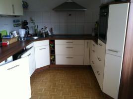 Foto 6 komplette Küche beige/nussbaum zu verkaufen