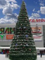 künstlicher neujahrsbaum von 3 bis 120m hoch