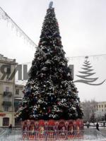Foto 3 künstlicher neujahrsbaum von 3 bis 120m hoch