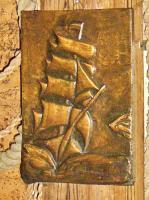 Foto 7 kupfer relief bild segelschiff