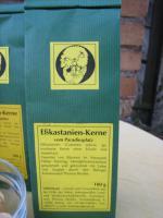 Foto 3 leckere getrocknete Esskastanien vom Paradiesplatz; Naturkost, ganzjähriger Genuss
