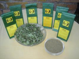 leckere getrocknete Krause Minze für köstlichen Teegenuss