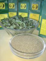 Foto 2 leckere getrocknete Krause Minze für köstlichen Teegenuss