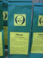 Foto 4 leckere getrocknete Krause Minze für köstlichen Teegenuss