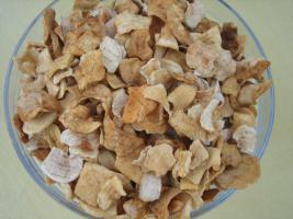 leckere luftgetrocknete natürliche Apfel-Chips; getrocknete Apfelstücke