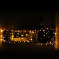 Foto 4 led beleuchtung gelb für weihnachten fest dekoration