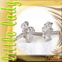 little lady Bead Flower Crown 925 Sterling Silber
