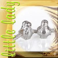 little lady Bead Pinguin 925 Sterling Silber