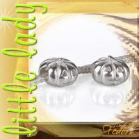 little lady Bead Pumpkin 925 Sterling Silber