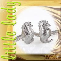 little lady Bead Seahorse 925 Sterling Silber