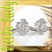 little lady Bead Sunflowers 925 Sterling Silber