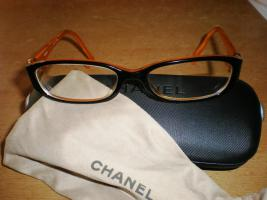 luxus edel Brille Chanel CH3112 C839 (schwarz/orange)