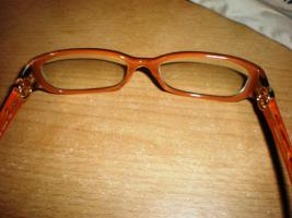 Foto 2 luxus edel Brille Chanel CH3112 C839 (schwarz/orange)
